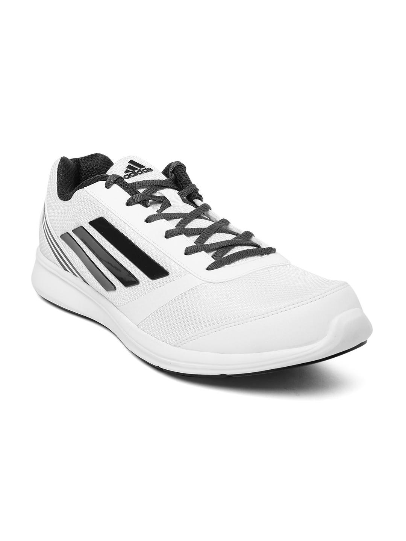 adidas ba2594 uomini bianchi di scarpe da corsa, miglior prezzo in india