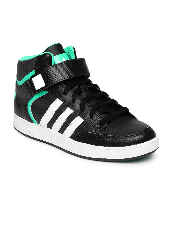 e7e4bad64f1 Adidas originals b27423 Men Black Varial Mid Top Sneakers- Price in India