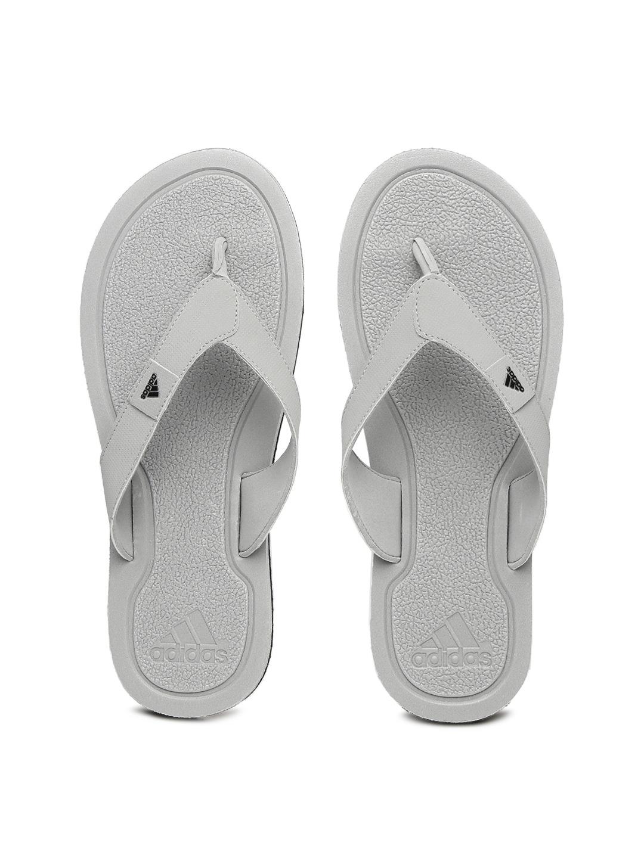 5ee670cdd9ef Adidas ba5705 Men Grey Flip Flops - Best Price in India