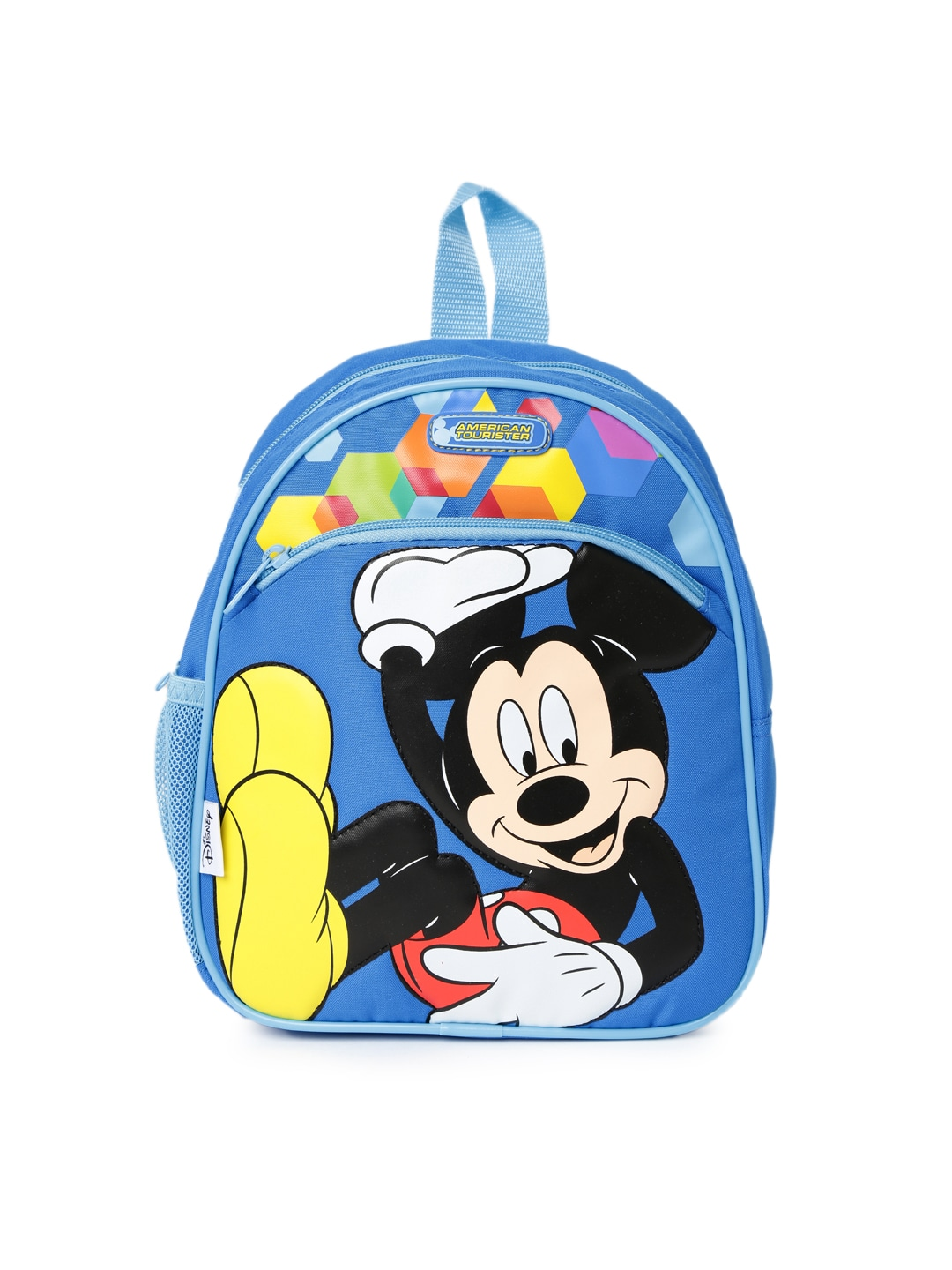 76ab54ca020 American tourister 21s-0-01-001 Girls Blue Disney Print Backpack- Price in  India