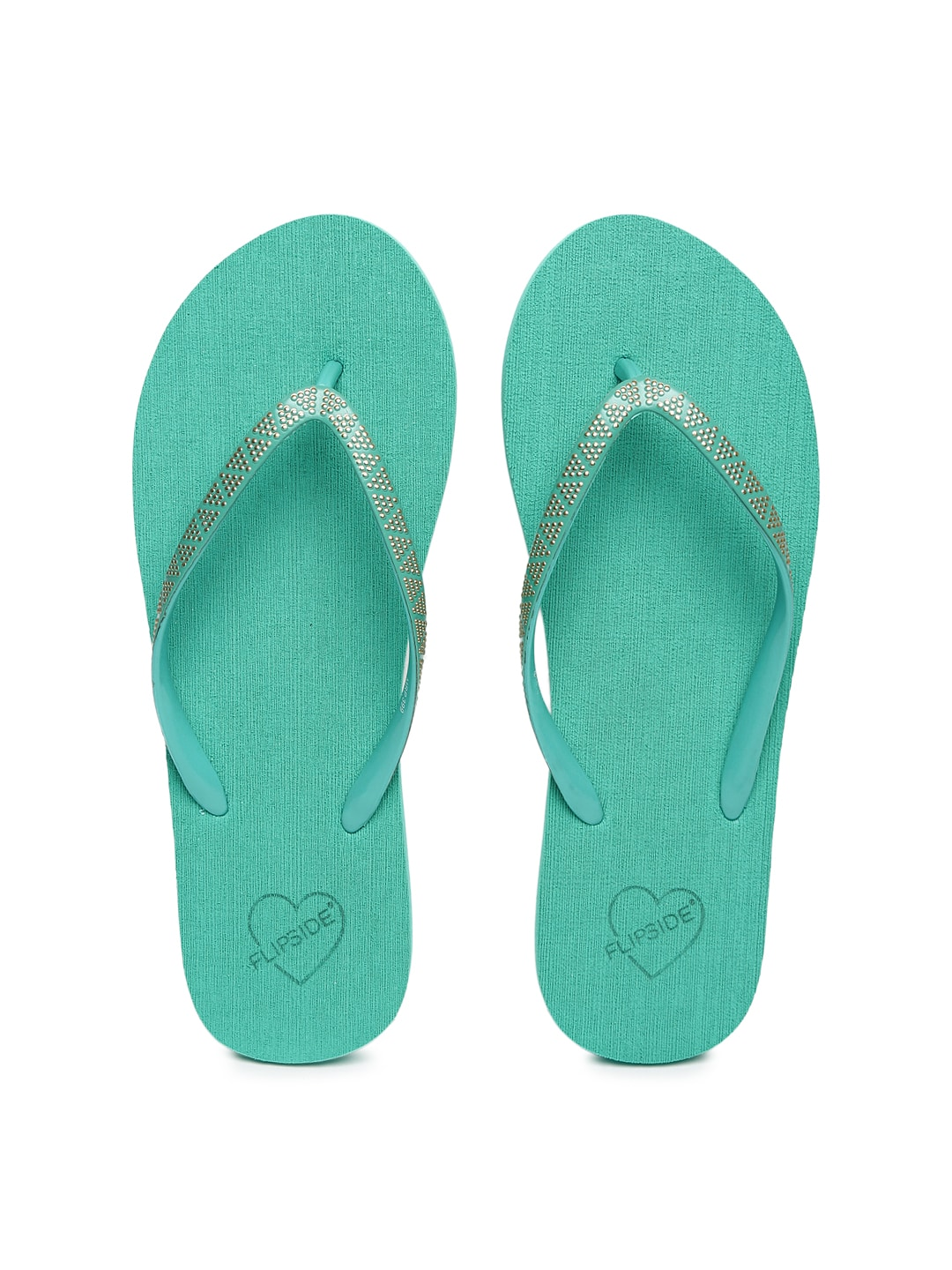 45d0e7826 Fizik Freak Feather Green Flip Flops for women - Get stylish shoes ...