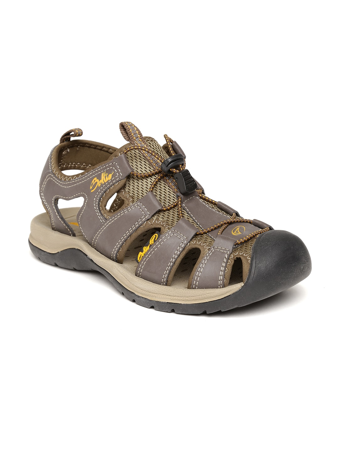 6f7147b09d997c Boltio bl-26653-bn-brown Men Brown And Black Sports Sandals- Price in India