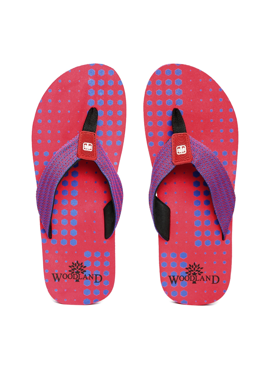 dc8465fd1 Woodland ff-1930115-red Proplanet Men Blue And Red Printed Flip Flops-  Price in India