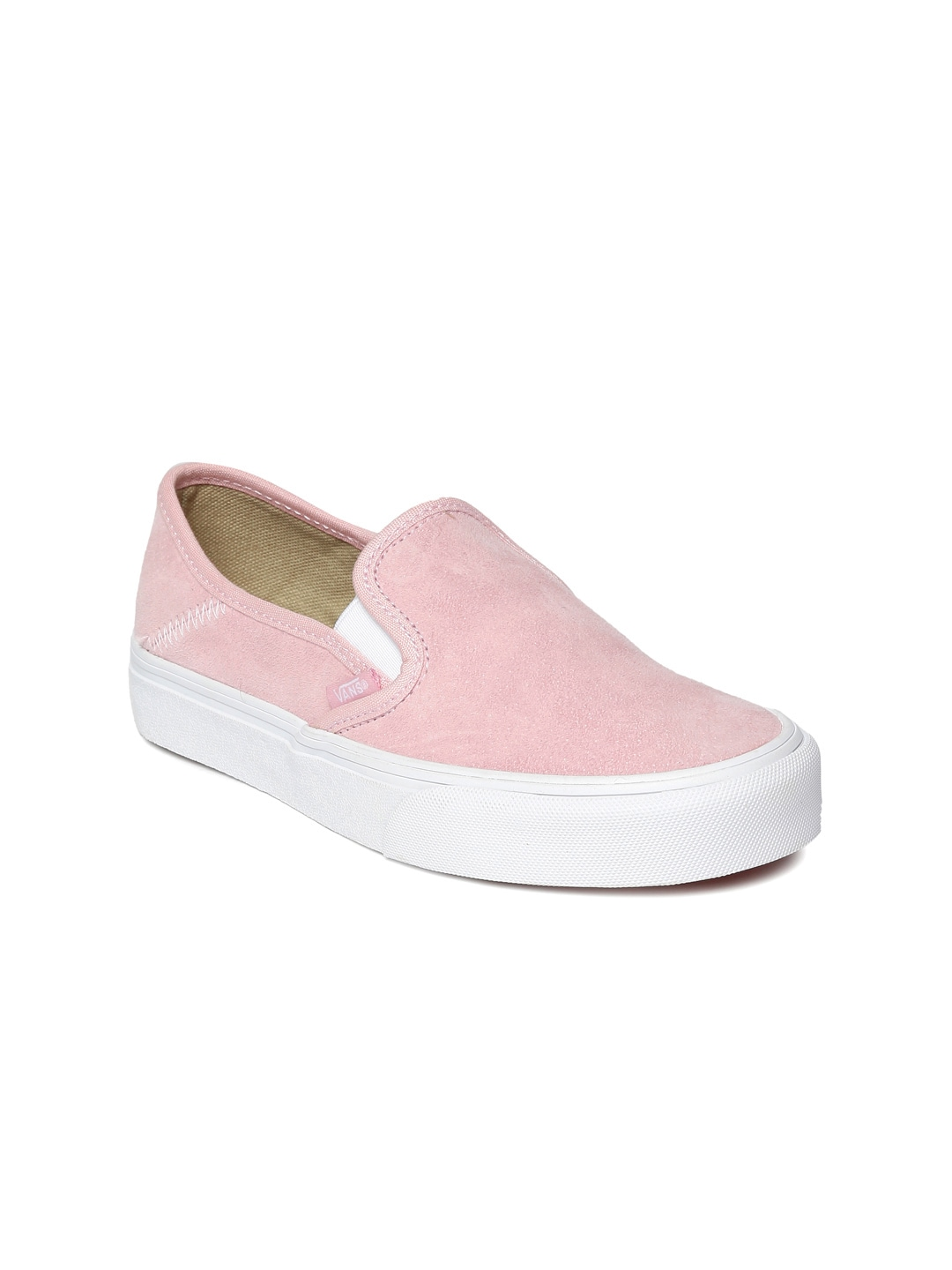 Vans vn00019sw0h1 Women Pink Slip On Sneakers - Best Price in ... d47e60149
