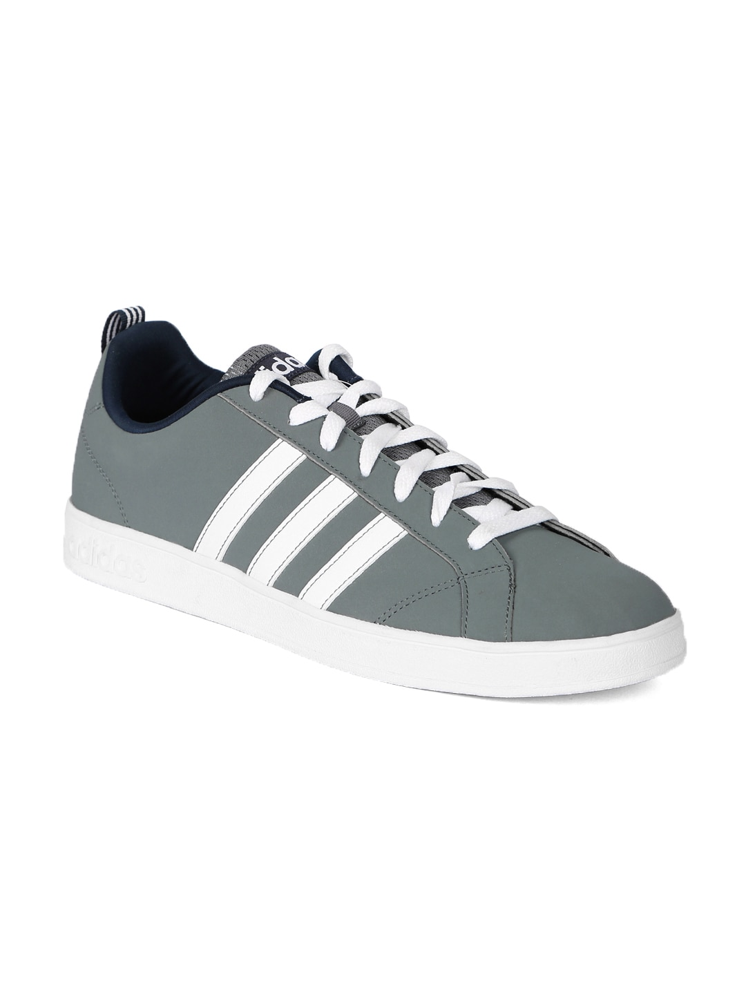 best cheap a1b1b 43b2b Adidas Neo Men Grey Perforated Advantage Vs Sneakers