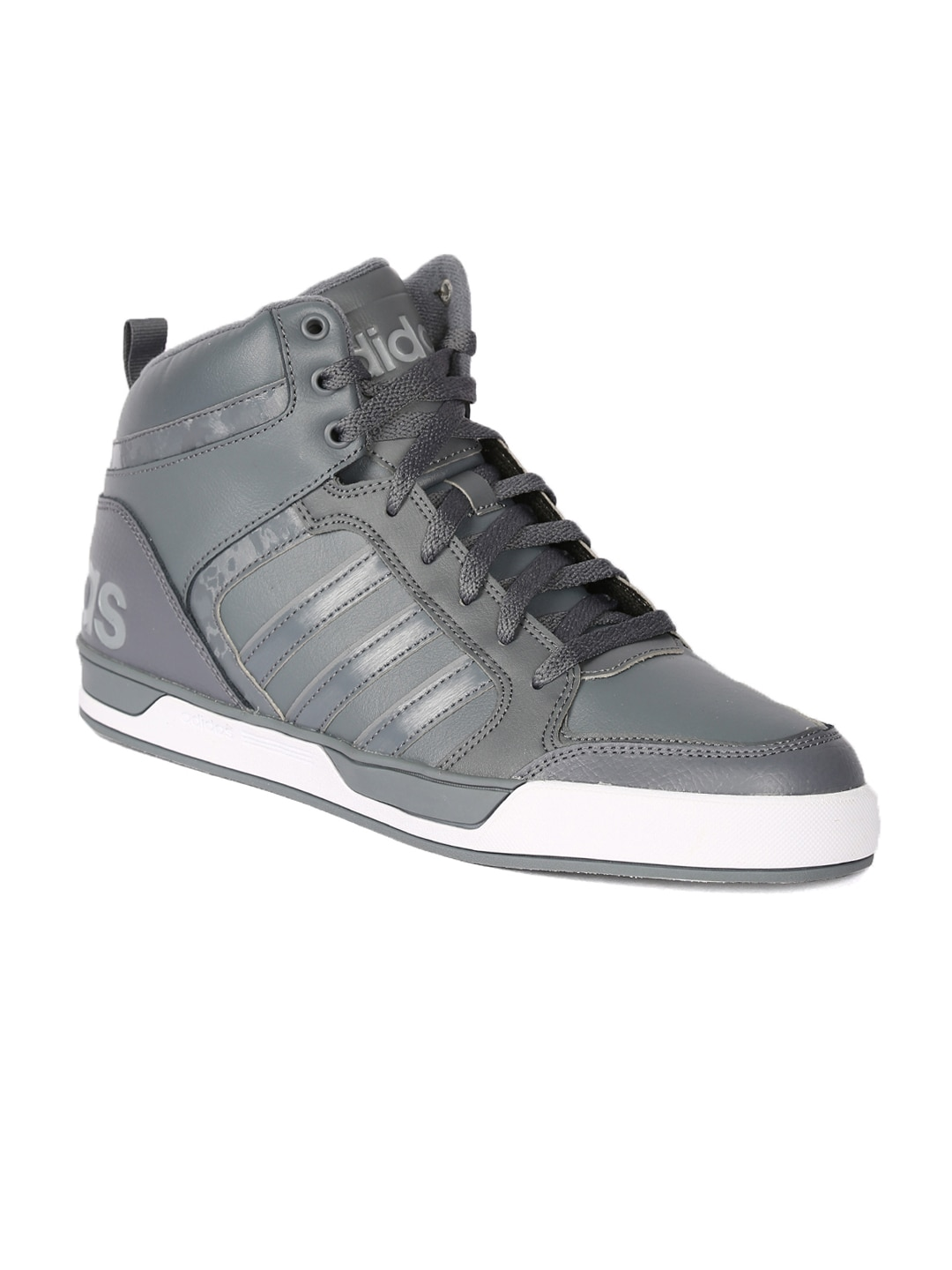 Price Grey Solid Top Adidas Aw4989 Best High In Sneakers Men Neo v0wmnN8