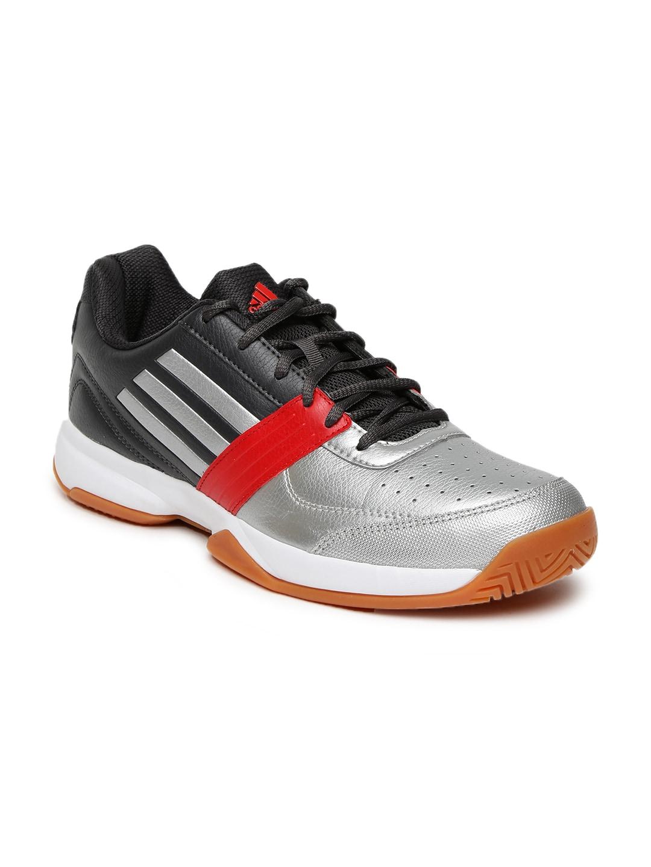 Adidas Bg9710 Uomini D'argento Solo E Grigio Torus Ii Solo D'argento Scarpe Da Tennis Indoor 566600