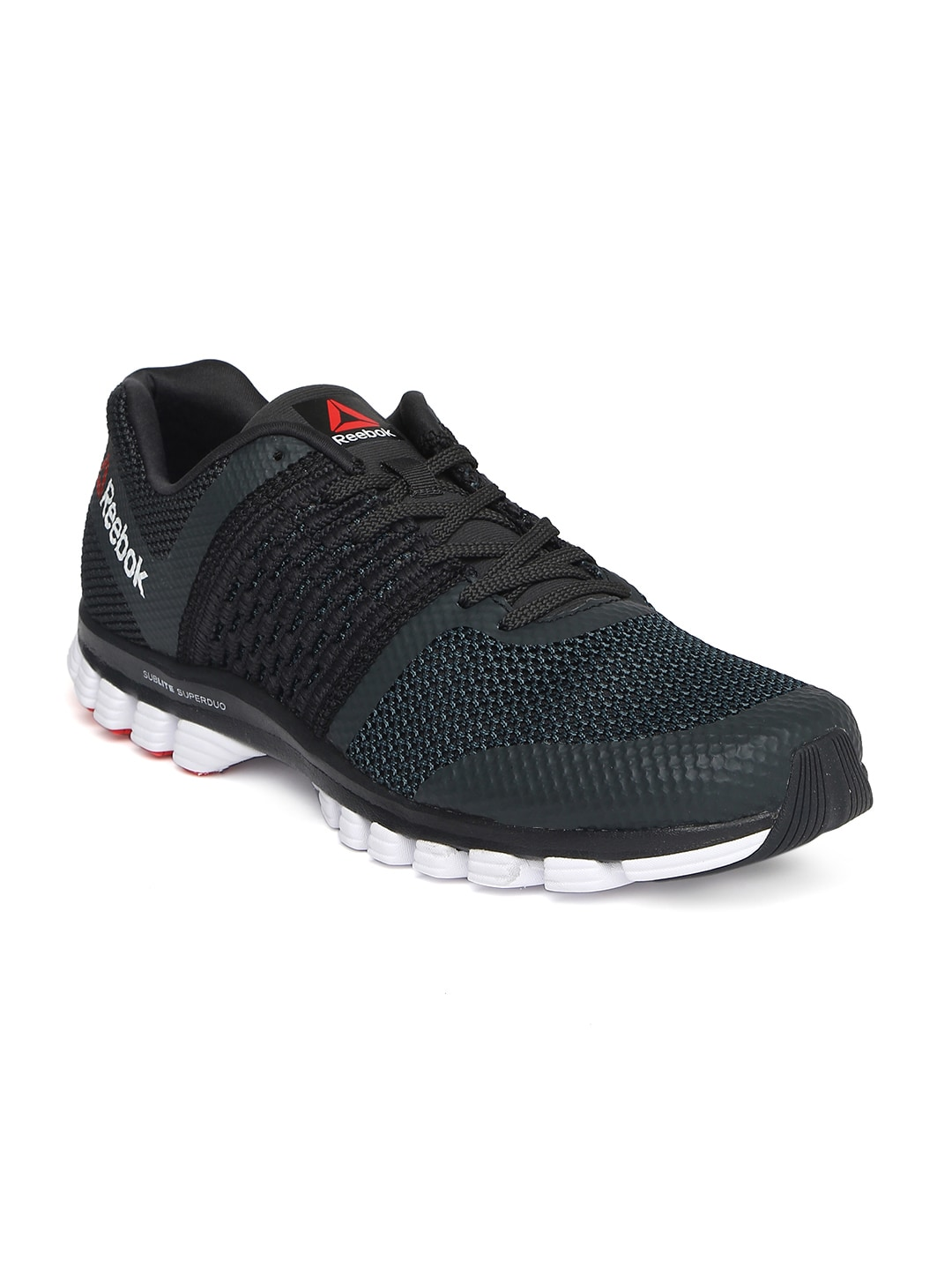 8bca084b64bf53 Reebok bd4064 Men Grey Sublite Transition Running Shoes- Price in India
