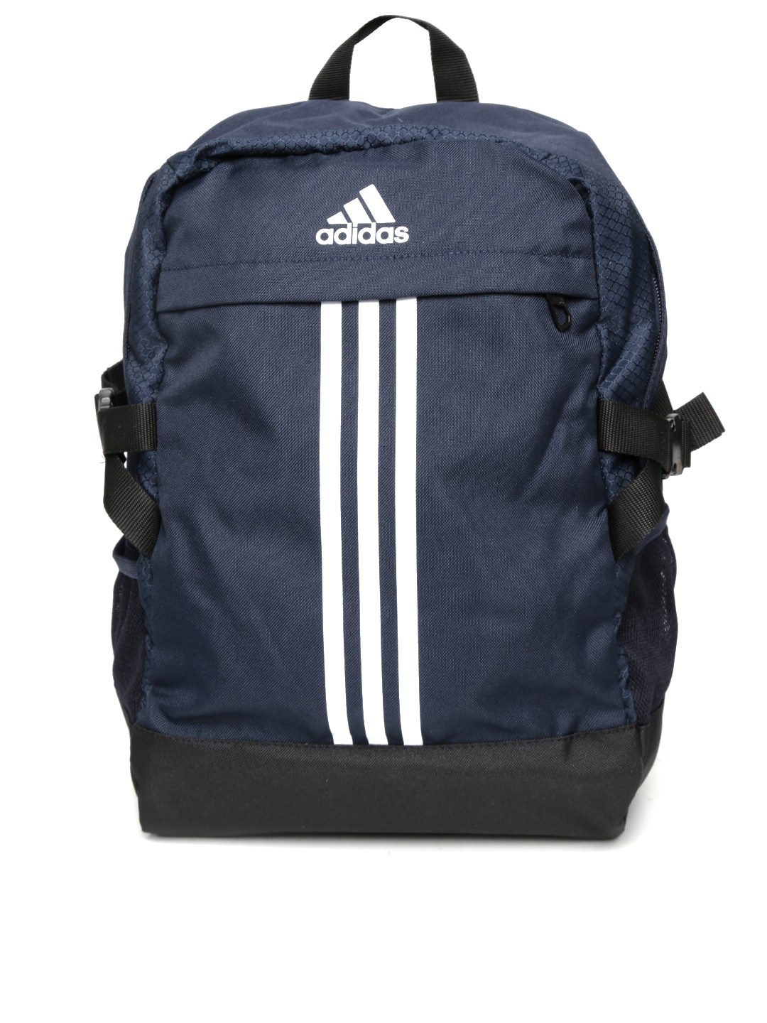 Adidas ay5092 Unisex Navy Power Iii M Striped Backpack - Best Price ... 42a05bd38c5d5