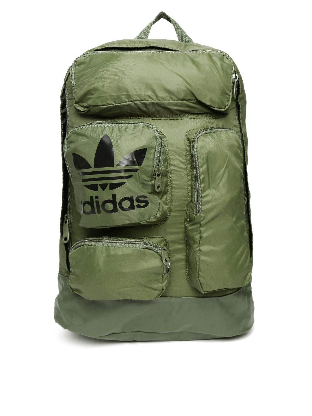 81124e50ed38 Adidas originals ay7882 Unisex Olive Green Patch Laptop Backpack ...