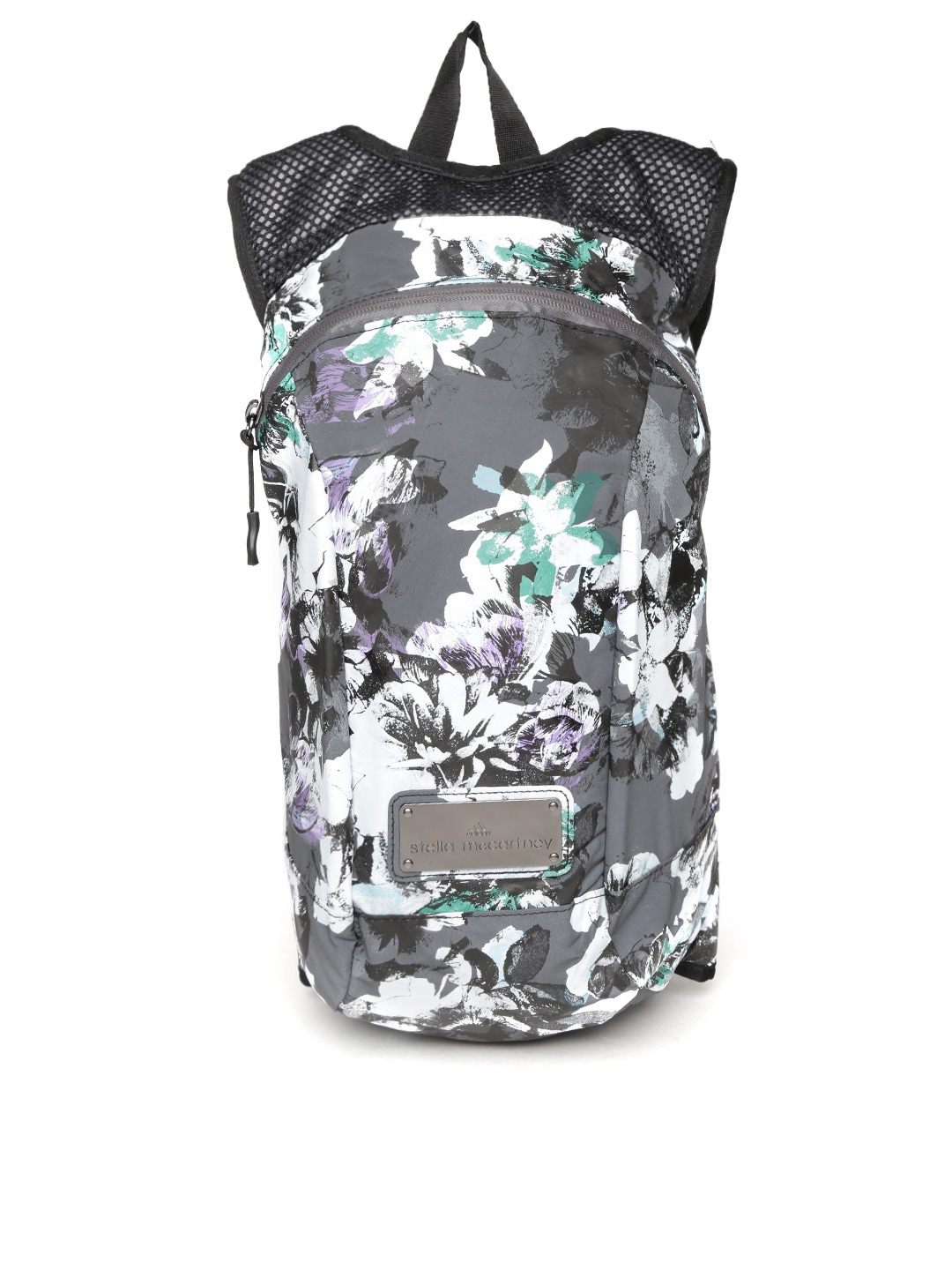 4fea623ea6 Adidas s94856 By Stella Mccartney Women Grey Pr Floral Print Backpack-  Price in India