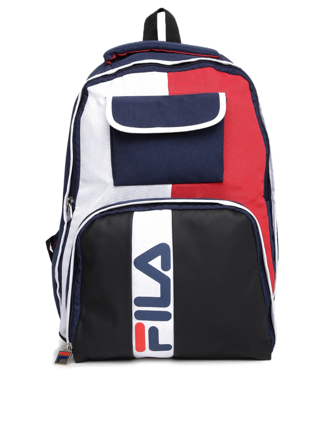 4ee3155b90b7 Fila 13001241 Unisex Navy Blue And Black Uranus Backpack- Price in India