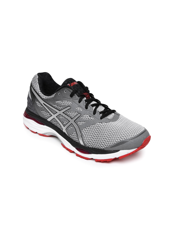 verkkokauppa uskomattomia hintoja hieno tyyli Asics t6c3n-9793 Men Grey Gel Cumulus 18 Running Shoes ...
