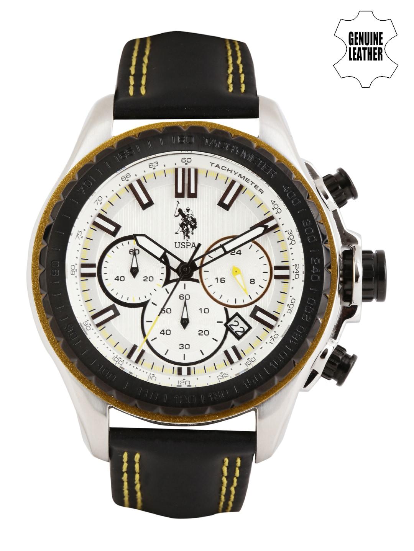 buy u s polo assn men black chronograph watch usat0102 watches buy u s polo assn men black chronograph watch usat0102 watches for men myntra