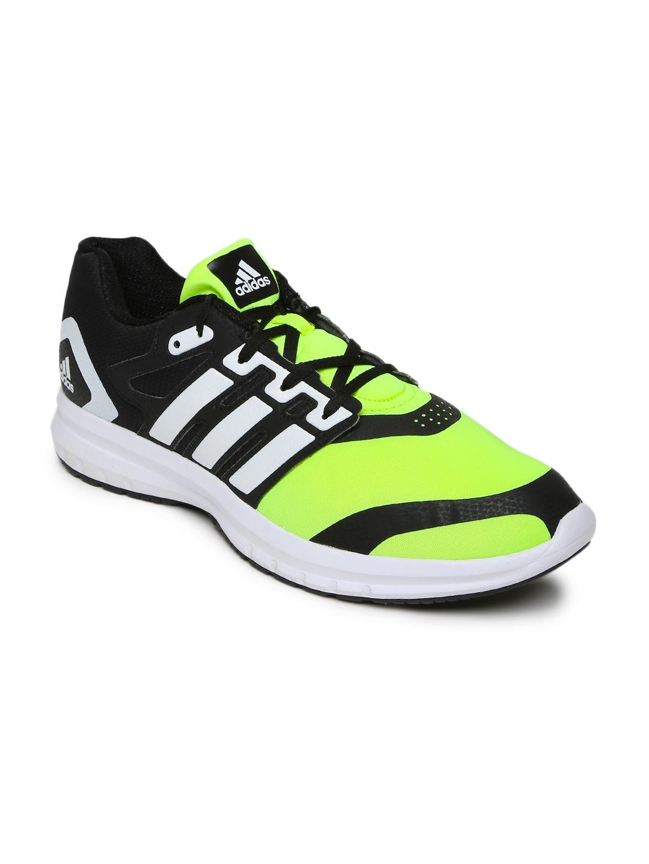 adidas ba2790 uomini nero e verde solonyx scarpe da corsa migliore prezzo