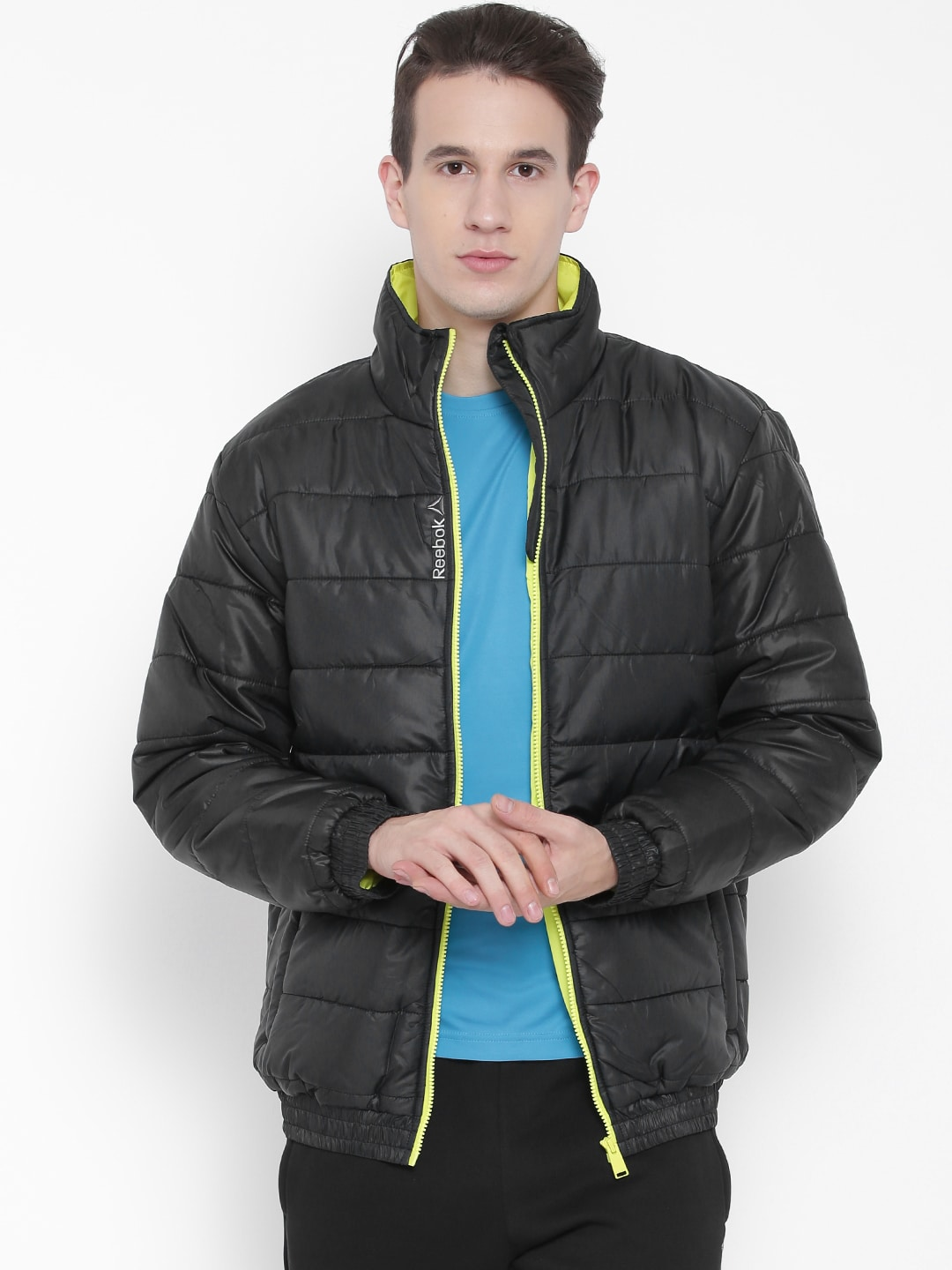 a862a97635e Reebok af2161 Black Ms Core Puffer Jacket - Best Price in India ...