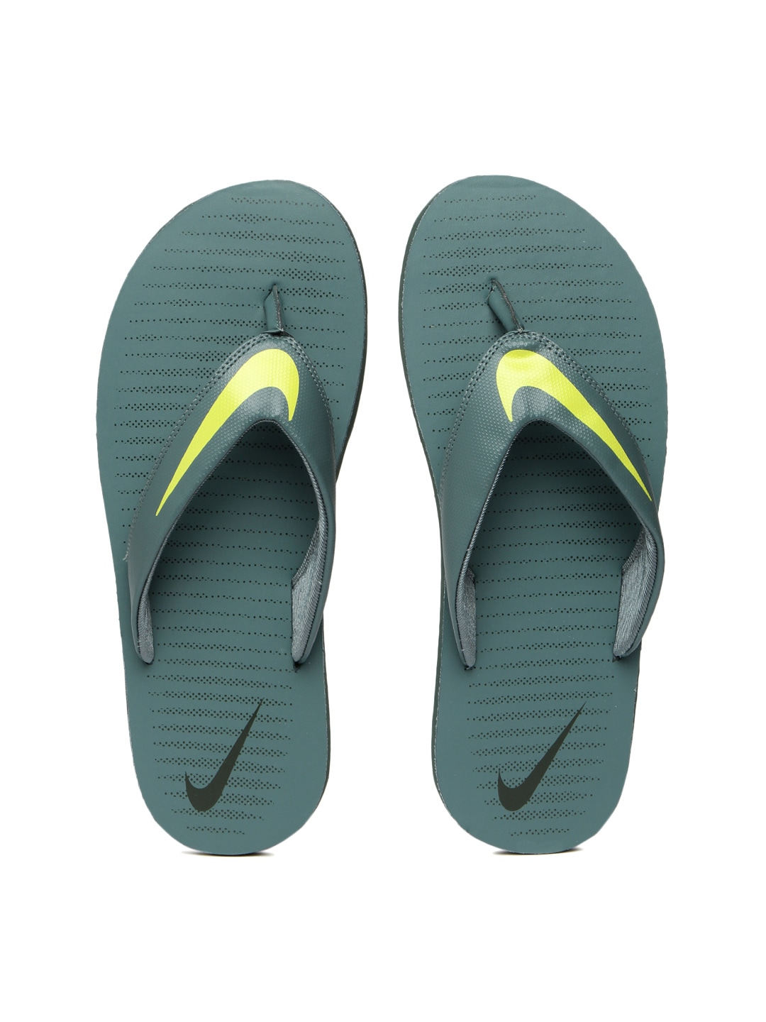 9049a978c Nike 833808-300 Men Green Chroma Thong 5 Flip Flops - Best Price ...