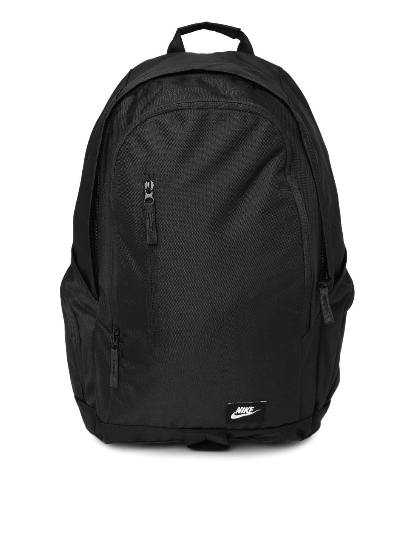 ce4311b7fa91 Nike ba4855-001 Men Black All Access Fullfare Laptop Backpack- Price in  India