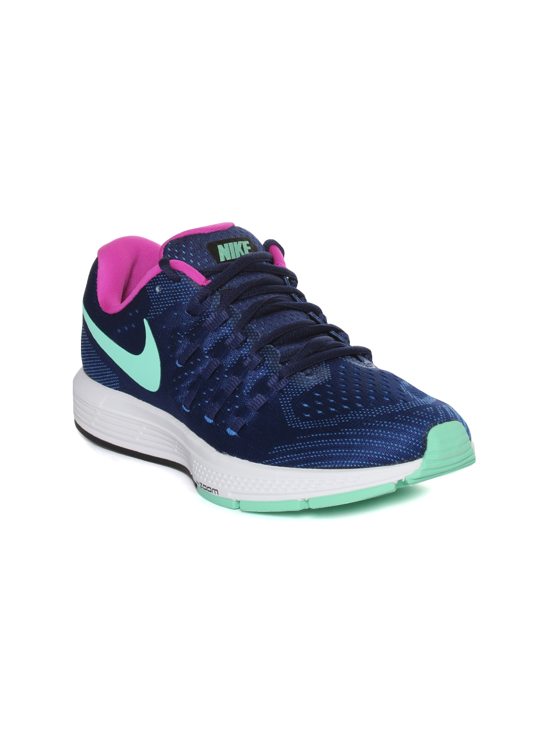 Nike 818100-402 Women Blue Air Zoom Vomero 11 Running Shoes- Price in India