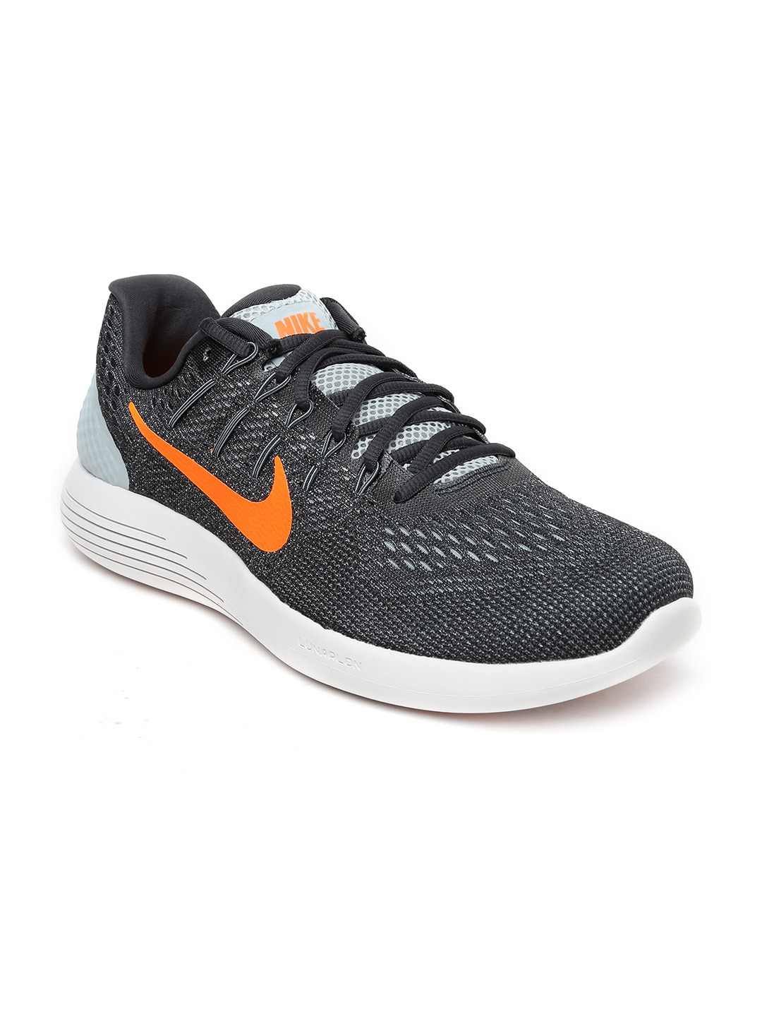 Nike 843725-009 Men Charcoal Grey Lunarglide 8 Running Shoes- Price in India a0dc96b9f2
