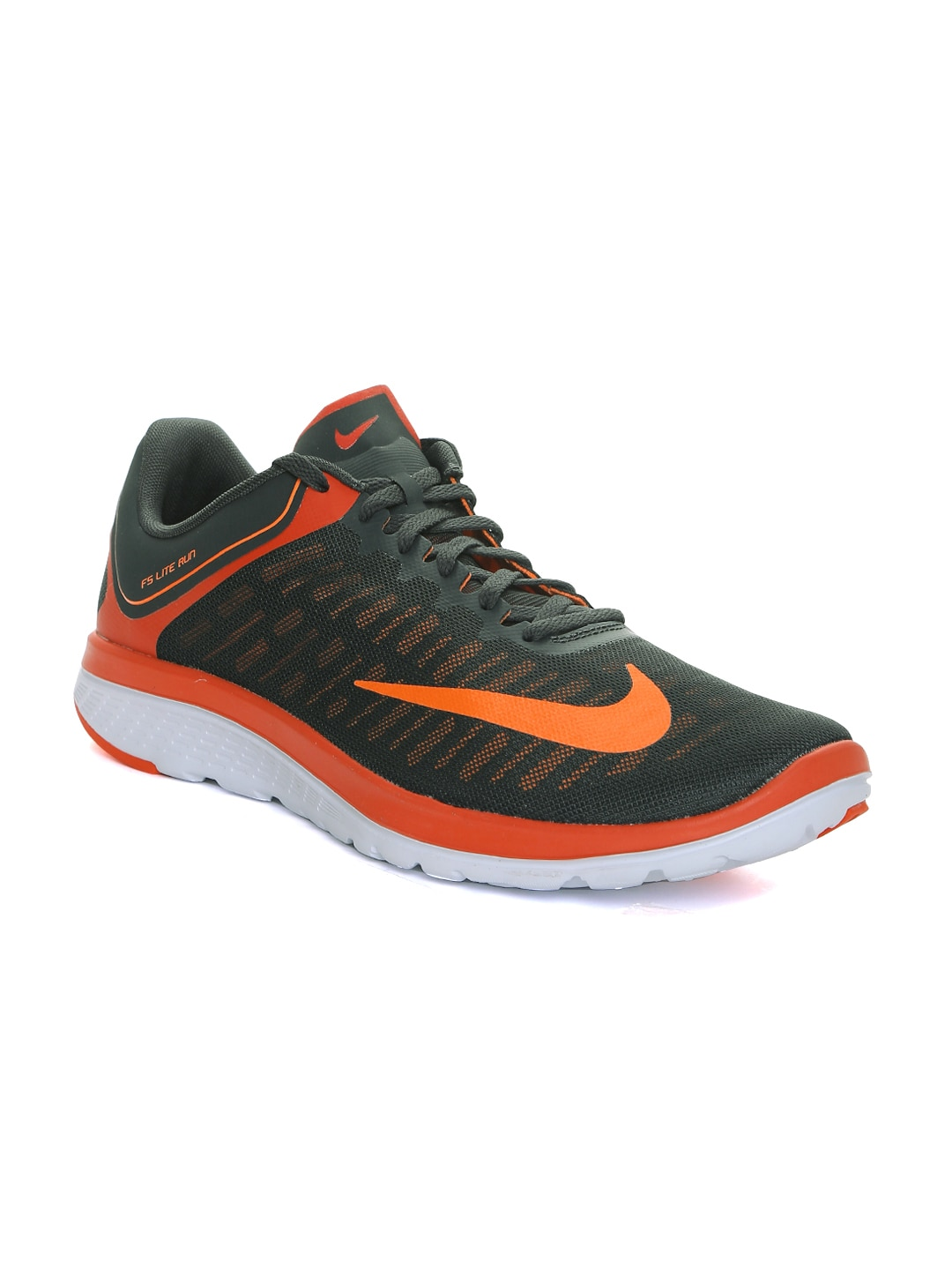 new products eda25 2701e Nike 852435-004 Men Black Fs Lite Run 4 Running Shoes ...
