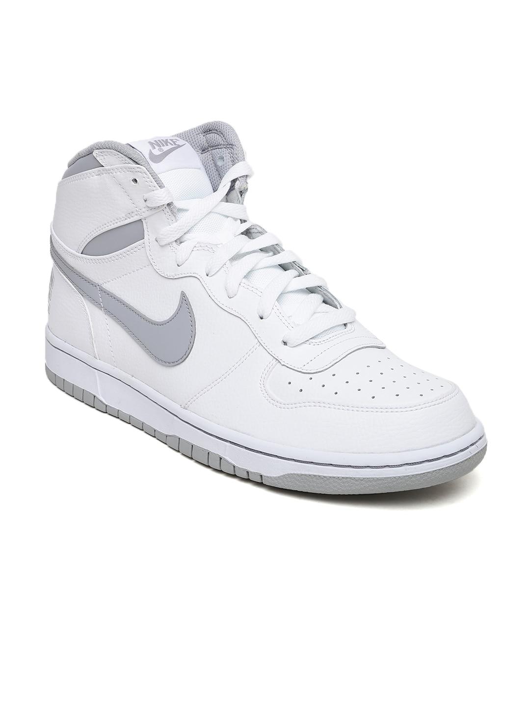 Nike Men White High Tops Sneakers
