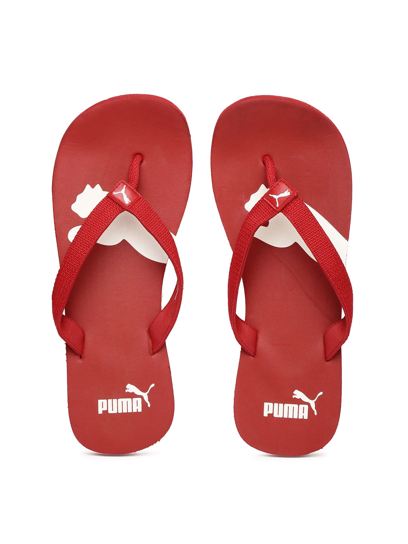 eb14d9598e4b Puma 18800302 Men Red Atlanta Dp Flip Flops - Best Price in India ...
