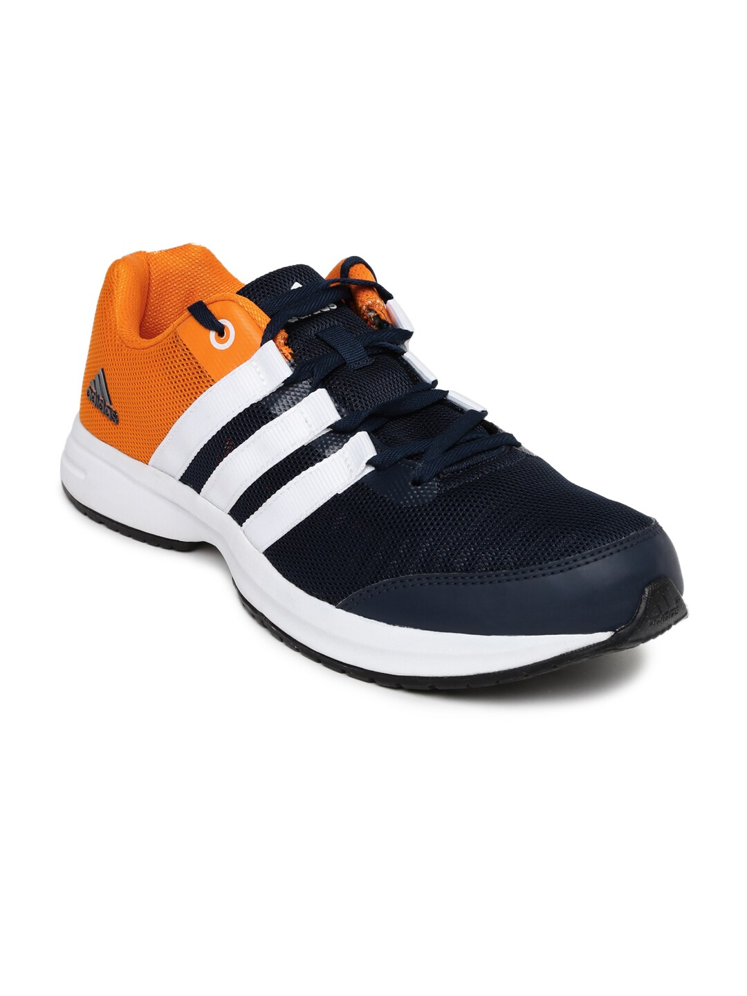 los angeles b1652 d2850 Adidas ba2816 Men Navy And Orange Colourblocked Ezar 3 0 Running Shoes-  Price in India