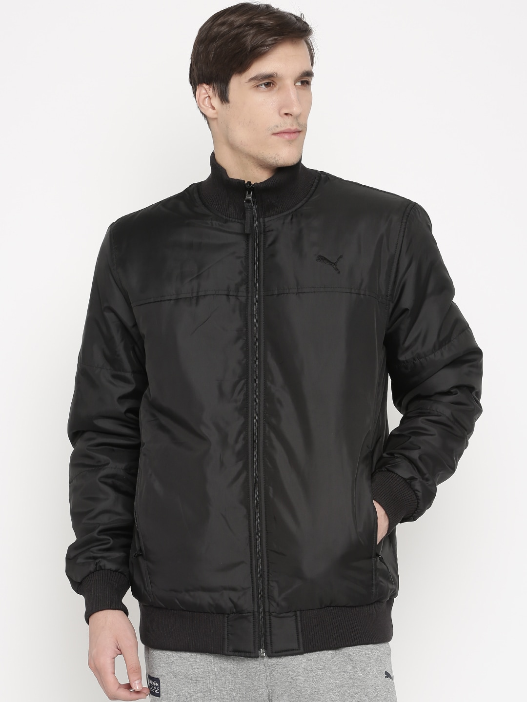 ac3aba95a544 Puma 51438301 Mens Synthetic Track Jacket - Best Price in India ...