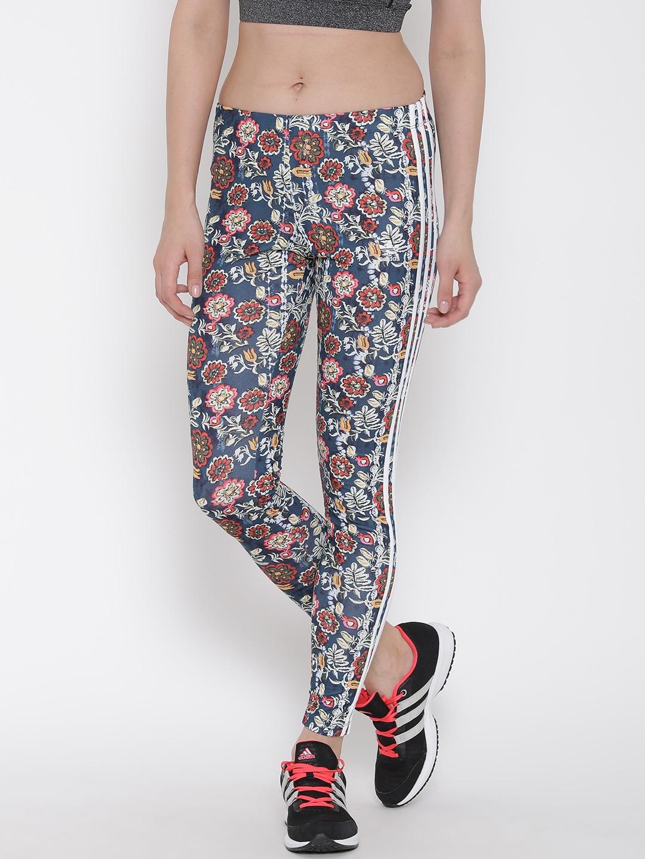 832bf45628e Adidas originals ay6901 Multicoloured Cirandeira Floral Print Tights- Price  in India
