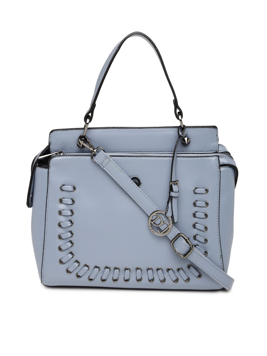 fe077b16b4 David jones dj403-blue Blue Handbag - Best Price in India | priceiq.in