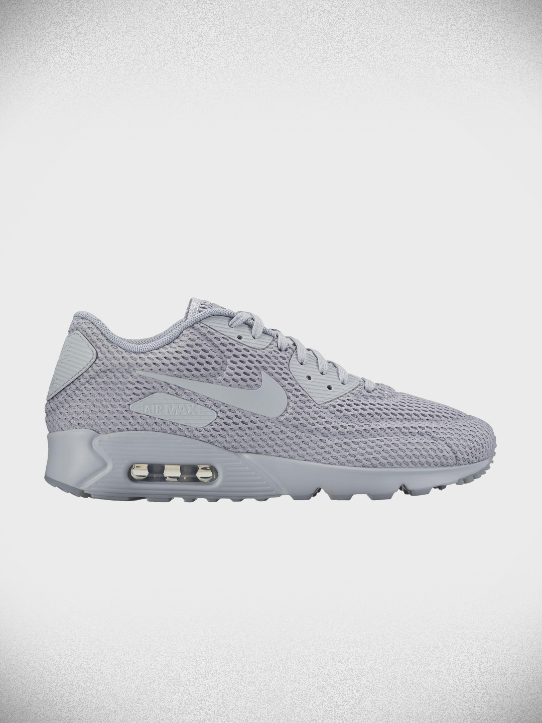 buy popular 3c07c ed767 Nike Men Grey Air Max 90 Ultra Br Casual Shoes