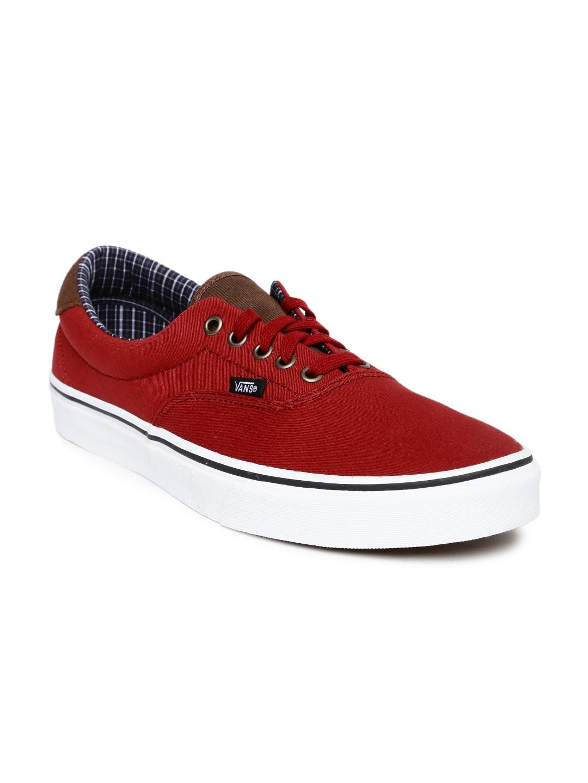 96aa3a516d Vans vn0003s4jsd1 Unisex Red Era 59 Sneakers - Best Price in India ...