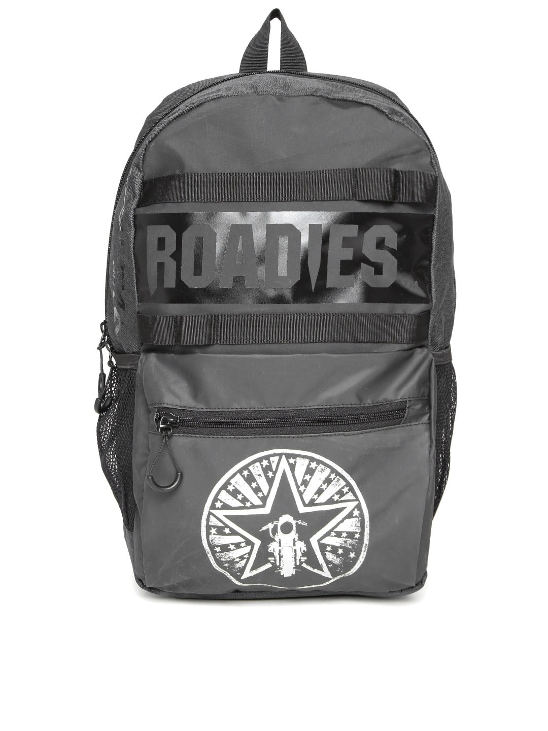 The vertical 8903496093933 Roadies By Unisex Charcoal Grey Printed Laptop  Backpack- Price in India 8a466c3feca31