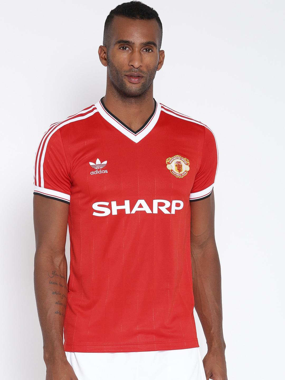 finest selection c040a e839f Adidas originals az1236 Men Red Manchester United Fc 84 ...