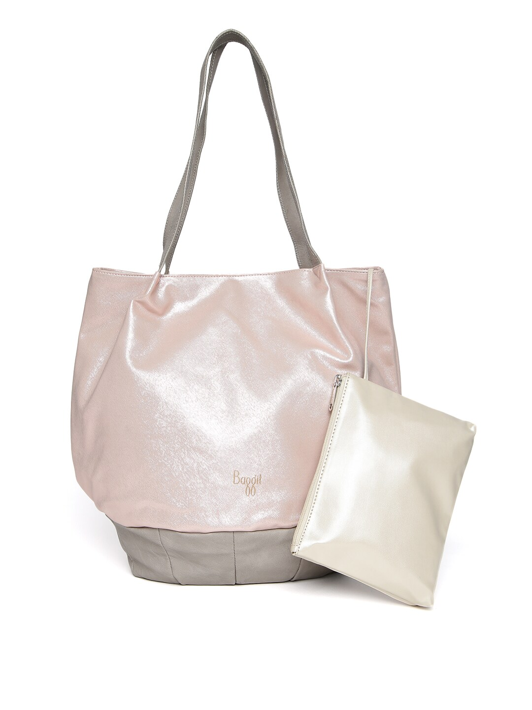 abb4e0099 Baggit 8903414582211 Dusty Pink Shimmer Shoulder Bag- Price in India