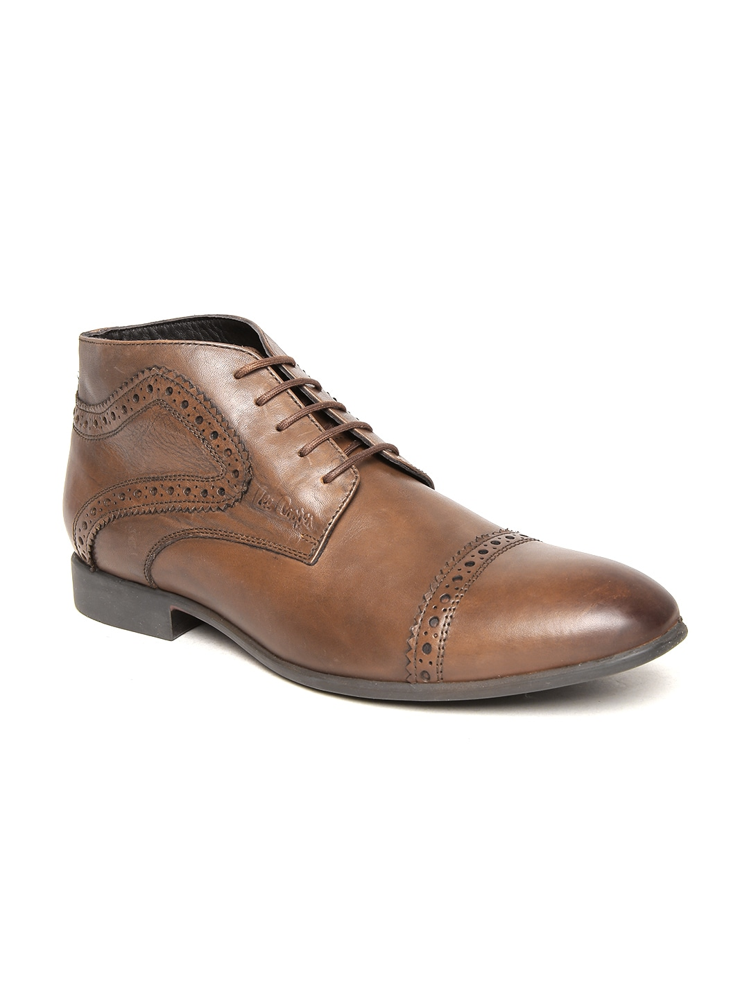 2ea33e562cc Lee cooper lc2174-tan Men Brown Leather Formal Shoes - Best Price ...