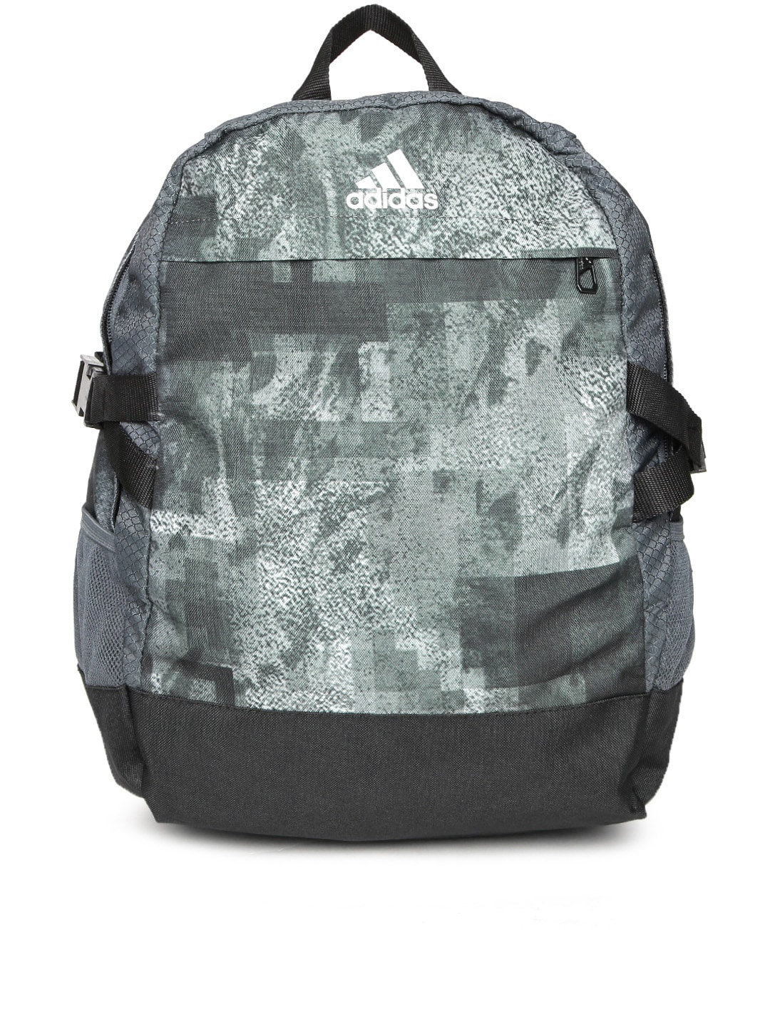 eb6b4c4412ae Adidas ay5095 Unisex Grey Printed Power Iii M Laptop Backpack- Price in  India