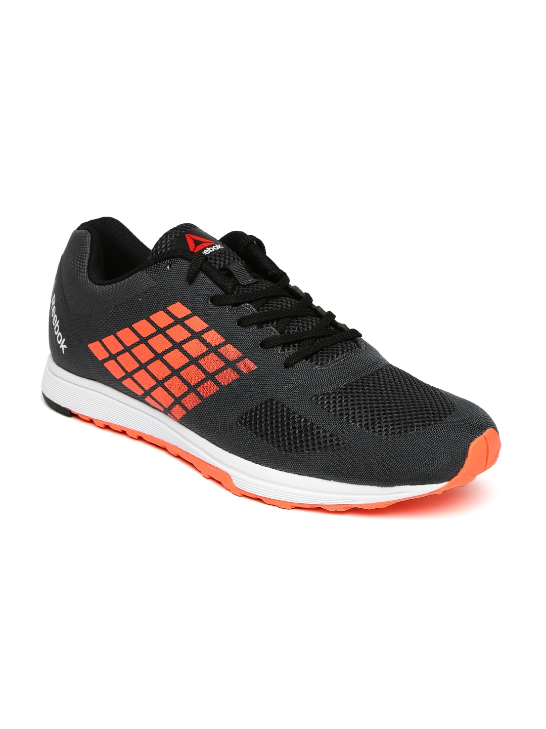Reebok bd1356 Men Charcoal Grey Hexalite X Glide Running Shoes ... fc0708a01