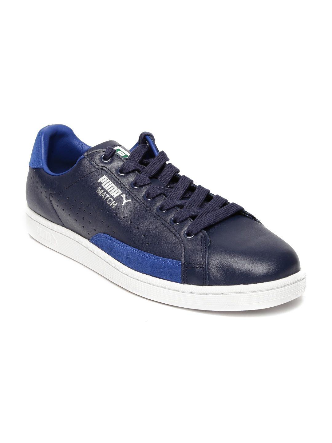 4a17b1f107f Puma 35951801 Men Navy Solid Match 74 Upc Leather Sneakers- Price in India
