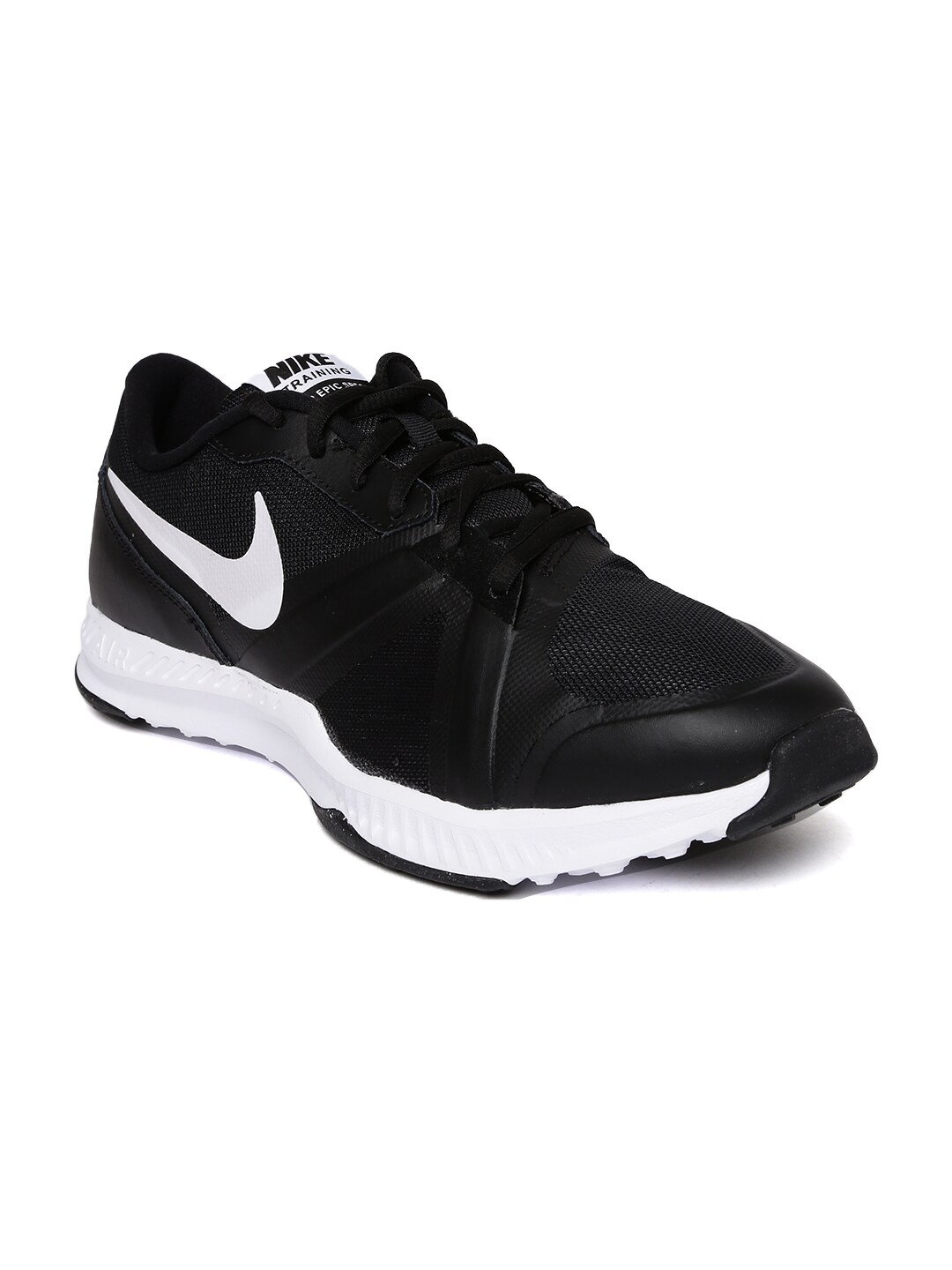 5a8d8e372975 Nike 637382-001 Men Black The Overplay Viii Basketball Shoes - Best ...