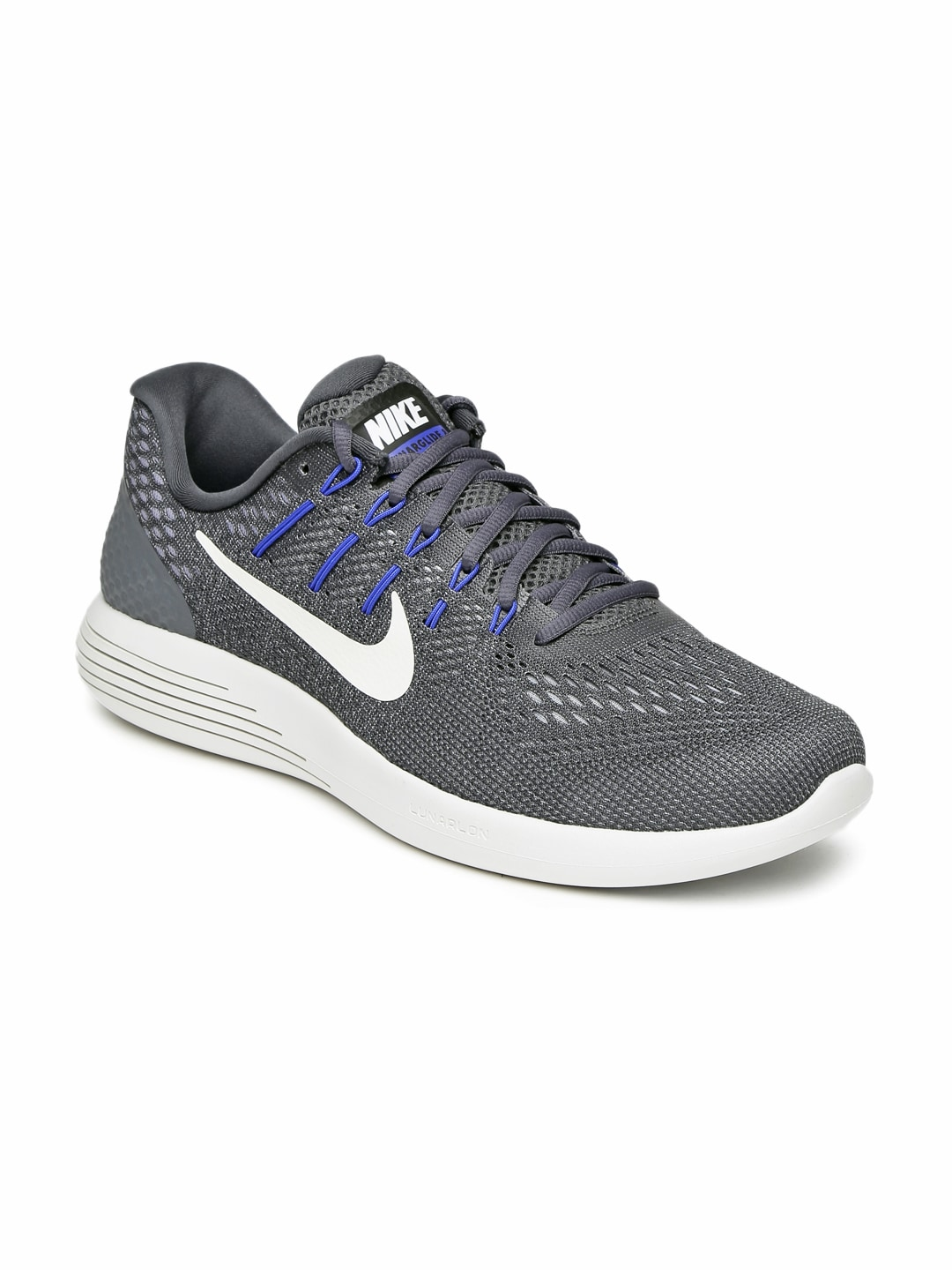 Nike 843725-013 Men Charcoal Grey Lunarglide 8 Running Shoes- Price in India 6c3eae4c1