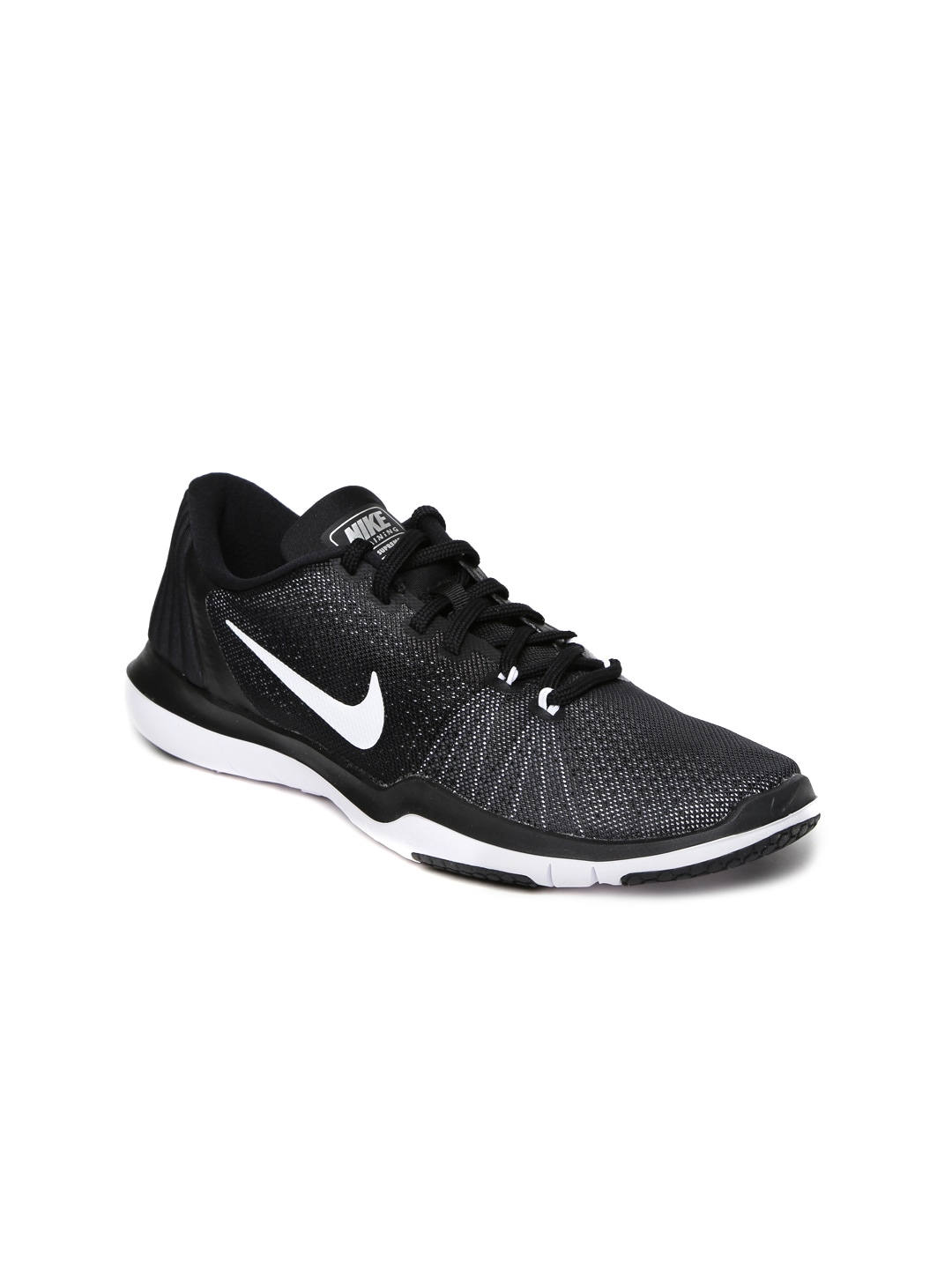 45122a2788def1 Nike 852467-001 Women Black Flex Supreme Tr 5 Training Shoes- Price in India
