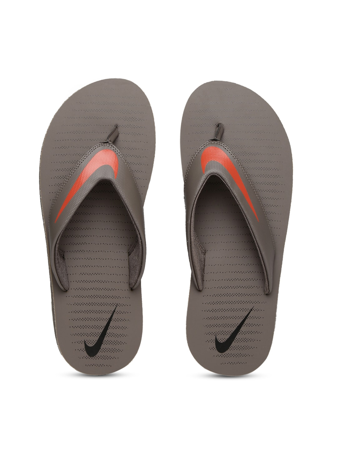 402cce75879 Nike 833808-202 Men Taupe Flip Flops - Best Price in India