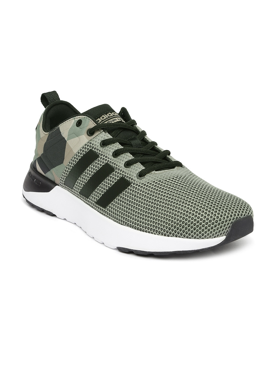Adidas aw4165 Neo Men Olive Green Solid Cloudfoam Super Racer Sneakers-  Price in India b921b205a