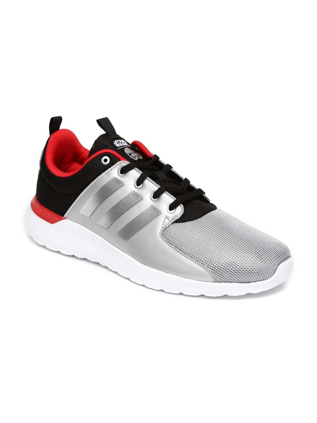 a4d1f082d533fa Adidas aw4271 Neo Men Silver Cloudfoam Lite Racer Colourblocked Sneakers-  Price in India