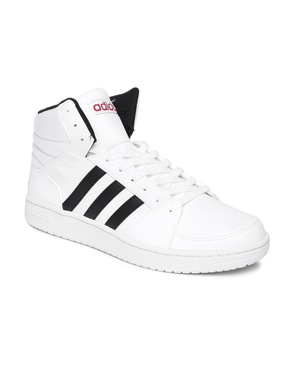 adidas b74501 neo uomini bianchi vs basket mid top scarpe migliori prezzi