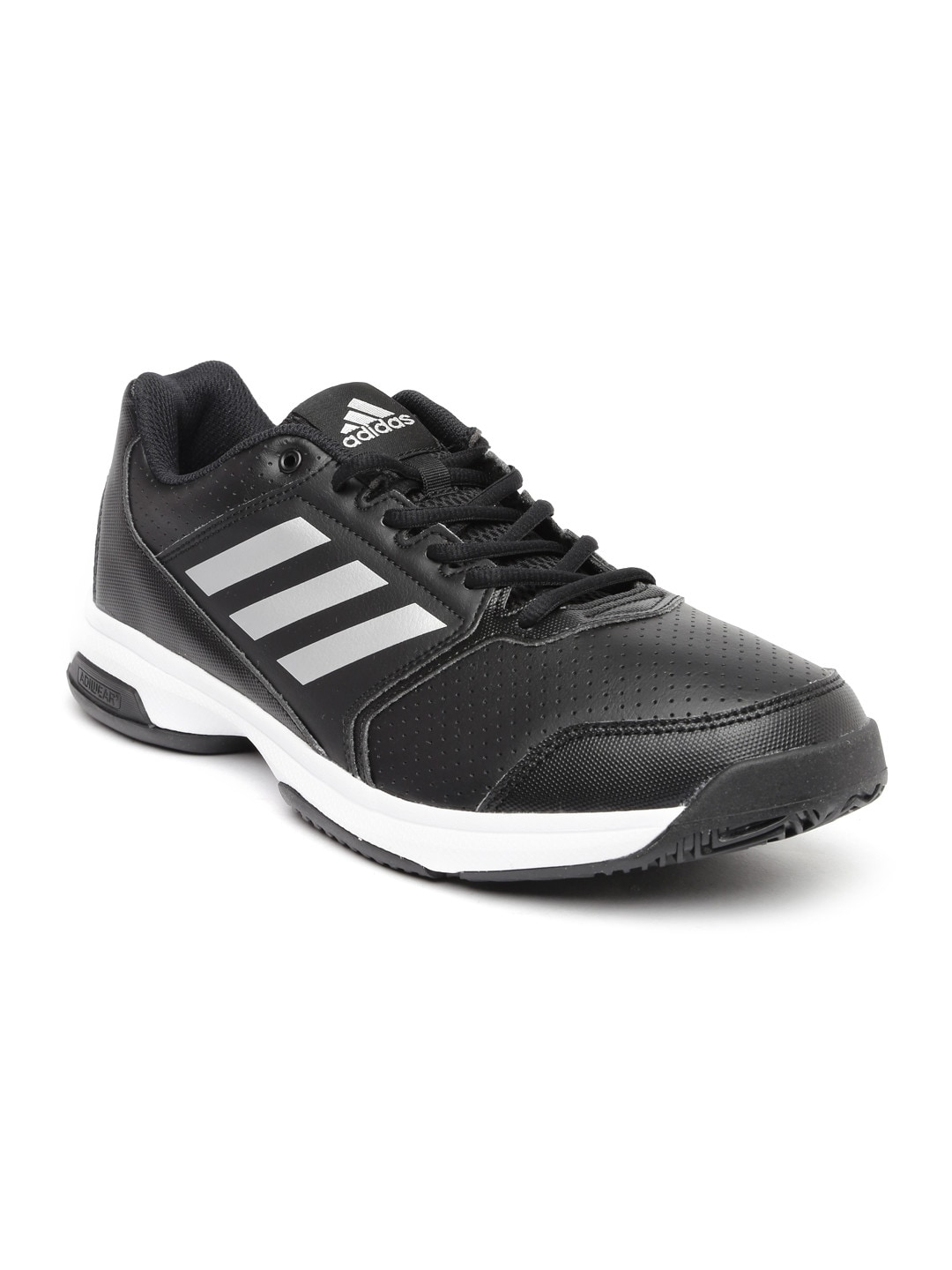 buy popular 980ee 47d11 Adidas ba9083 Men Black Adizero Attack Tennis Shoes- Price in India