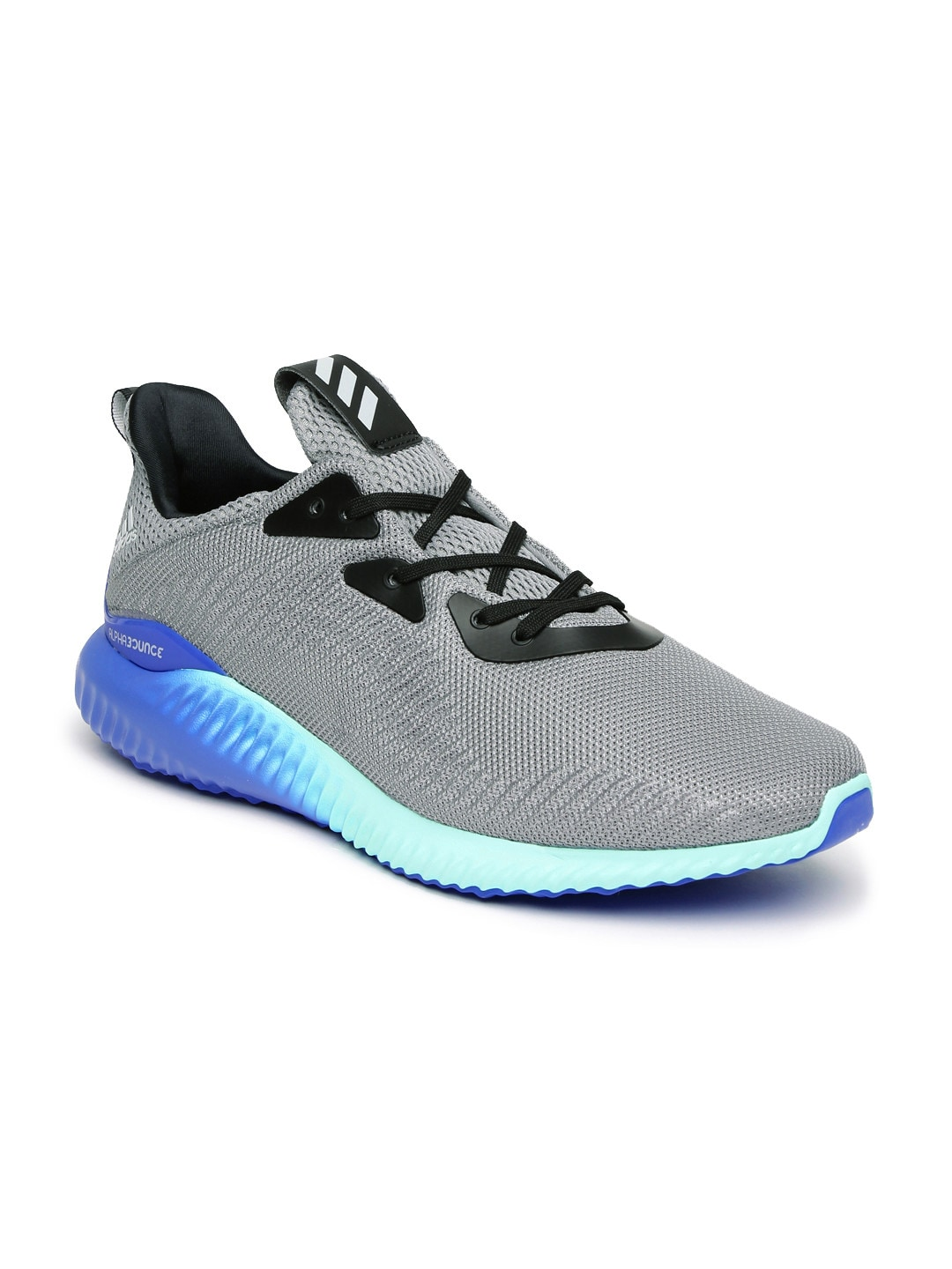 best loved 65e57 998d7 Adidas Men Grey Alphabounce 1 M Running Shoes