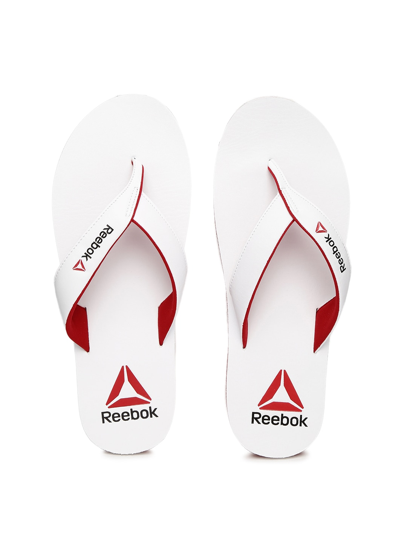df8f8cbf67fa Reebok bs6599 Men White Advent Flip Flops - Best Price in India ...